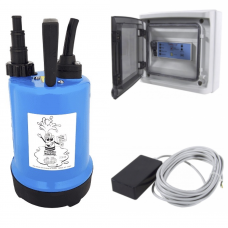 RSD 150 Pump Puddle Buddy Fitted with Low Level Sensor and Control Panel  240v