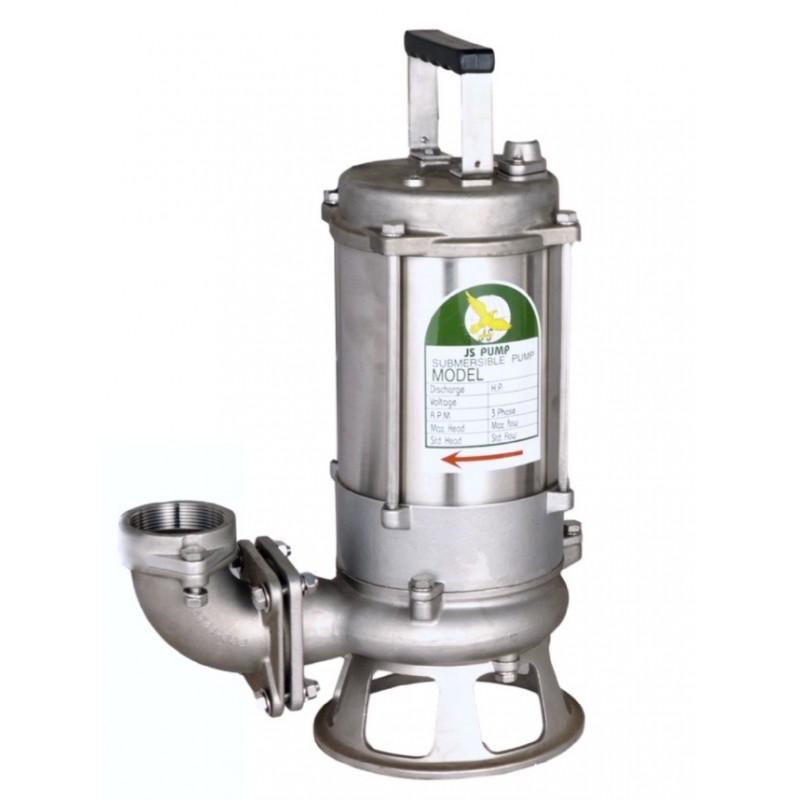 JS JS T SK SS Submersible Sewage Cutter Pumps Stainless Steel 110v 230v 415v