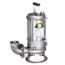 "JS Pump JS 750 SK SS Submersible Sewage Shredder Pump 230v 400 Lpm 14 Hm 2"""