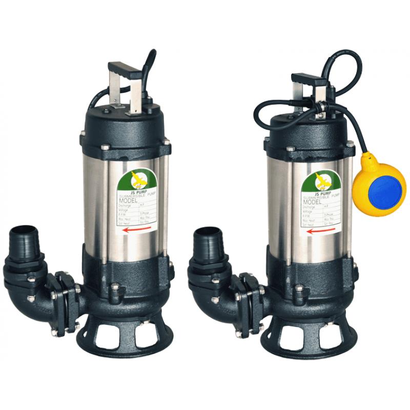 JS SK Submersible Sewage Cutter Pumps 110v 230v