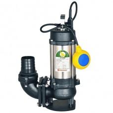 "JS Pump JS 1500 SV Submersible Sewage Vortex Pump 230v 750 Lpm 10 Hm 3"""