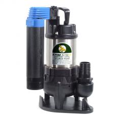 """JS Pump JS 150 SVAG Submersible Sewage Vortex Pump 110v 120 Lpm 7 Hm 1 1/4"""""""