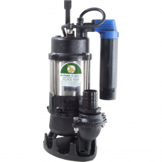 JS Pump JS 250 SVAG Submersible Sewage Vortex Pump 110v 220 Lpm 8 Hm 1 1/2""