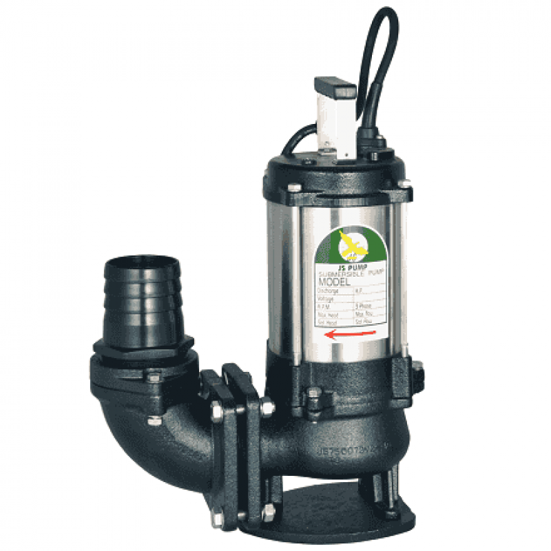 "JST 8 SV Pump - 550 Lpm - 9 Hm - 3"" - 415v"