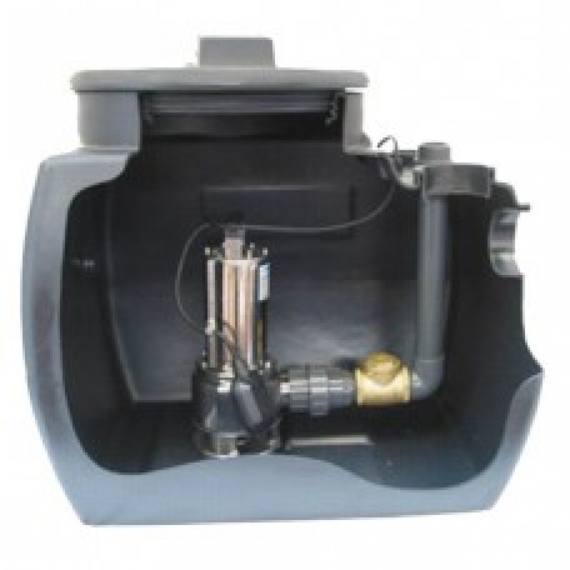 Pentair VACUBOX Sewage Lifting Stations Single and Double Pumps Products Link