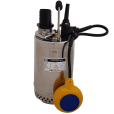 "JS Pump RS 250 Submersible Water Drainage Pump 230v 180 Lpm 9 Hm 1 1/2"""