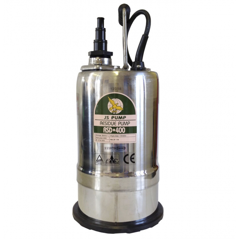 RSD 400 Pump - 180 Lpm - 11 Hm - 110v -230v