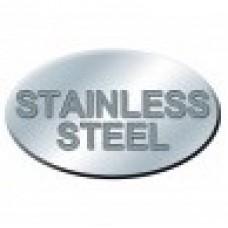 "JS Pump SR100  JS Guide Rail Set for 4"" Stainless Steel"