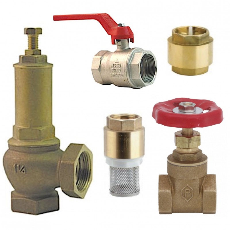 Metallic and PVC Pump Valves & Fittings for JS Submersible Pumps