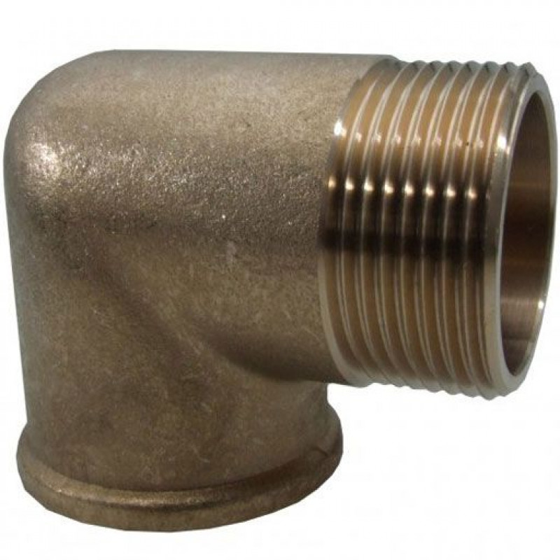 90 Degree Elbow Brass & Galvanised Steel Male and Female Threaded
