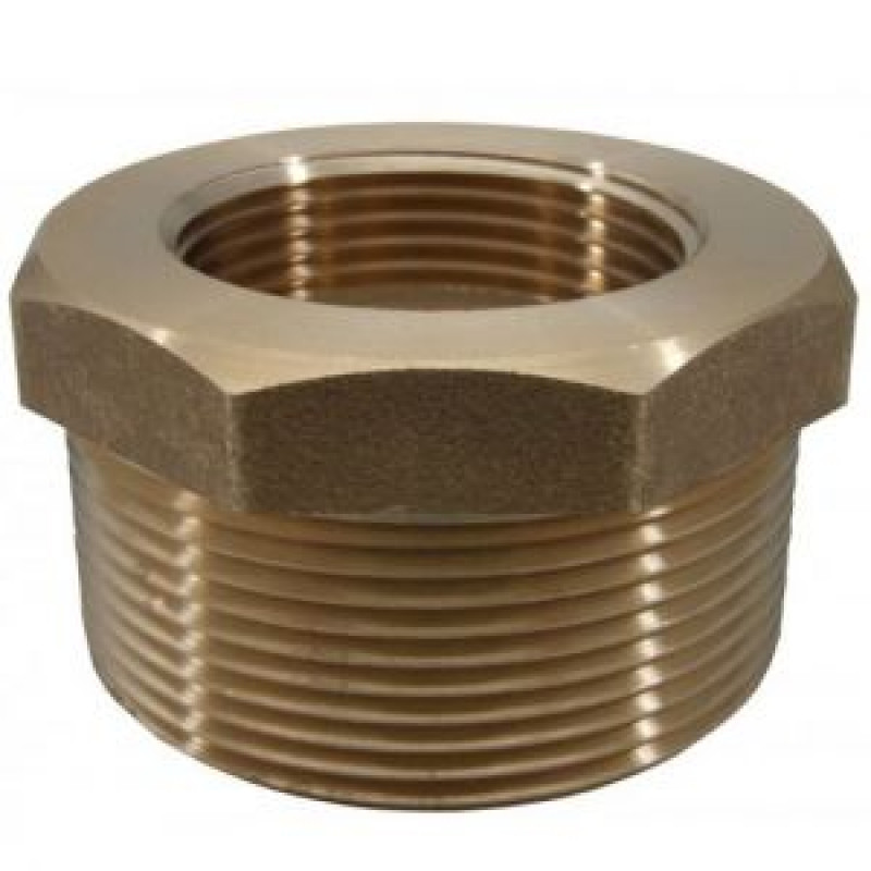 Reducer Bushes Brass and Galvanised Steel