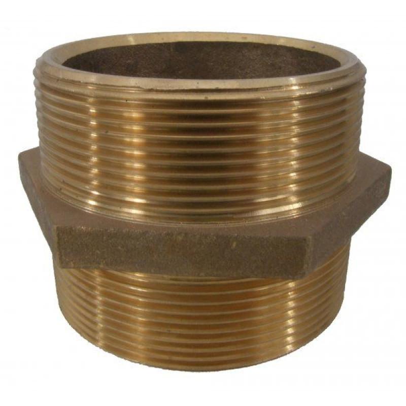 Nipples Brass BSP Male Threaded