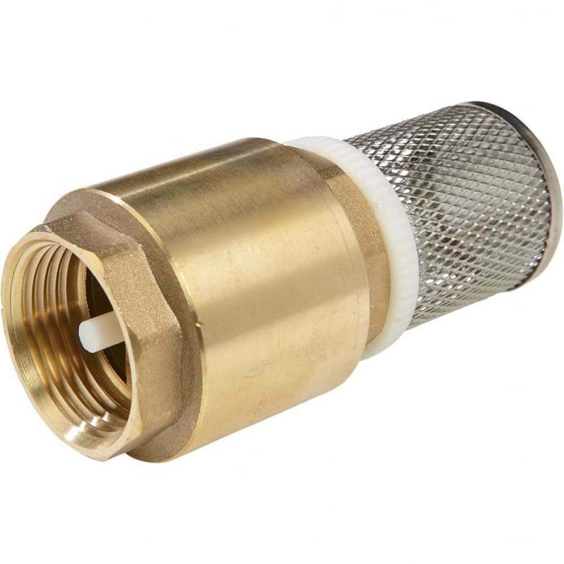 Non Return Filter Footvalves Brass BSP Female Threaded