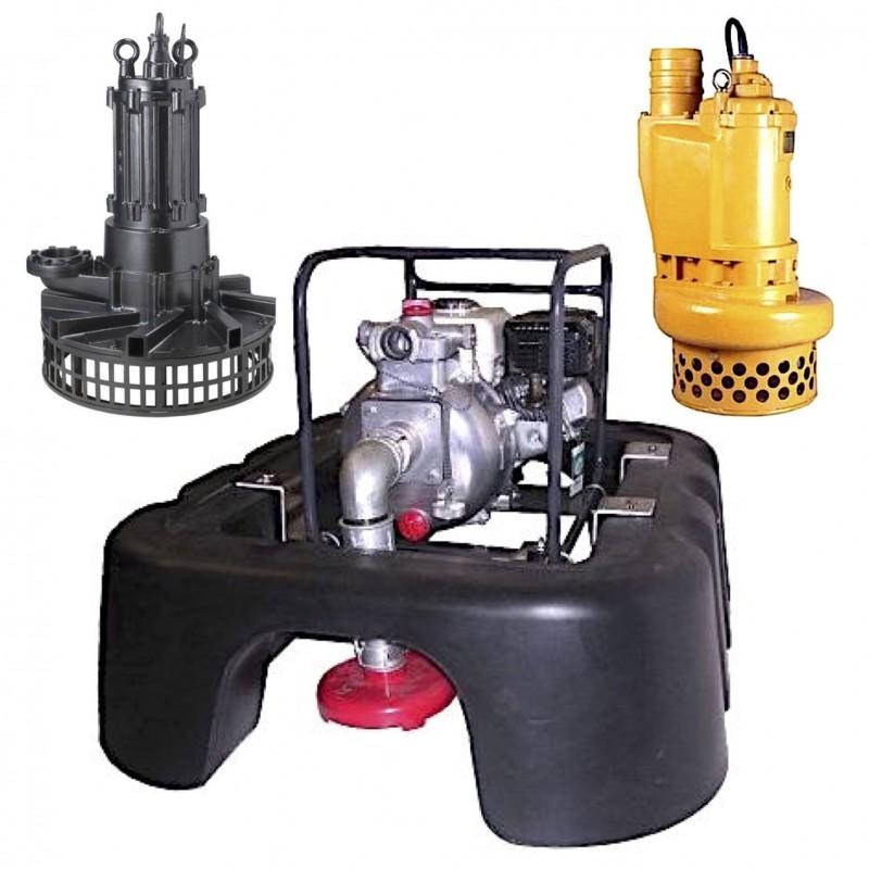 Floatation Pontoon Set for JS Submersible Pumps
