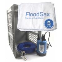 JS Pump Puddle Buddy Emergency Floodbox Kit with floodsax 230V
