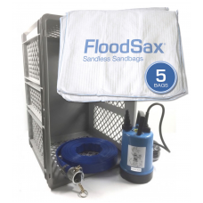 JS Pump Puddle Buddy Emergency Floodbox Kit with floodsax 230V
