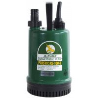 JS Pump RS 100 Submersible Water Drainage Pump 110v 75 Lpm 7 Hm 1""