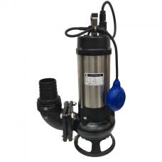 "JS Pump JS 1500 SK Submersible Sewage Shredder Pump 230v 800 Lpm 16 Hm 3"""