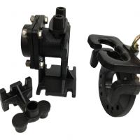 """JS Pump SR80 JS Guide Rail Set for 3"""" pump"""