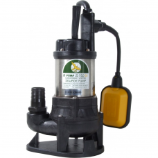 "JS Pump JS 150 SVA Submersible Sewage Vortex Pump 110v 120 Lpm 7 Hm 1 1/4"""