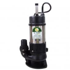 "JS Pump JS 650 SV Submersible Sewage Vortex Pump 110v 300 Lpm 15 Hm 2"""