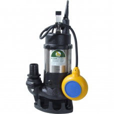 JS Pump JS 250 SVA Submersible Sewage Vortex Pump 110v 220 Lpm 8 Hm 1 1/2""