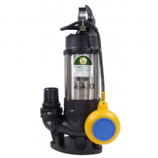 JS Pump JS 400 SV Submersible Sewage Vortex Pump 110v 240 Lpm 8 Hm 2""