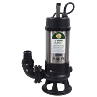 JS Pump JS 750 SK Submersible Sewage Shredder Pump 230v 400 Lpm 14 Hm 2""