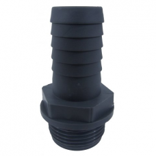 "JS Pump PVC 1 1/2"" Male BSP Thread Hosetail"