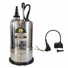 JS Pump RSD 400 Submersible Residue Water Pump 230v fitted with Crab Probe