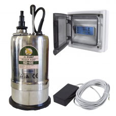 JS Pump RSD 400 Pump Fitted with Low Level Sensor and Control Panel 110v