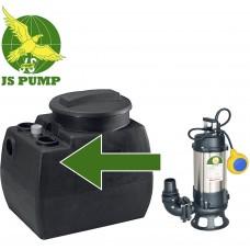 Sewage Package Station fitted with JS750SKA Cutter/Shredder Pump 230v