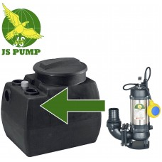 Sewage Package Station fitted with JS750SVA Vortex Pump 230v